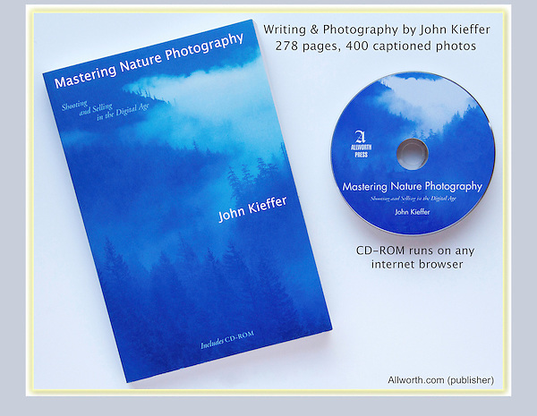 """Although I teach an array of photographic styles and subjects, my first love was nature photography.<br /> I wanted to call this book """"The Real Life and Times of a Nature Photographer."""" I've had the good fortune to photograph most of the wild places in the western US. Photography instruction by John Kieffer."""