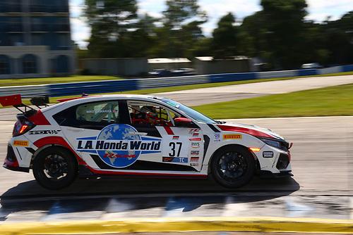 LA Honda World Racing Honda Civic Type R:Mike LaMarra