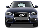 Straight front view of a 2012 Audi Q3 SUV