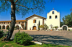 Mission Santa Ines, the nineteenth mission, founded on September 17, 1804<br /> Solvang, California