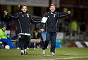 23/03/2010 Copyright  Pic : James Stewart.sct_jspa03_dundee_v_qots  .::  DUNDEE NEW BOSS GORDON CHISHOLM AND ASSISTANT BILLY DODDS  ::  .James Stewart Photography 19 Carronlea Drive, Falkirk. FK2 8DN      Vat Reg No. 607 6932 25.Telephone      : +44 (0)1324 570291 .Mobile              : +44 (0)7721 416997.E-mail  :  jim@jspa.co.uk.If you require further information then contact Jim Stewart on any of the numbers above.........