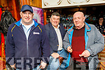 Paul Murphy, Justin Horgan and Jerry Fitzgerald enjoying Cheltenham Races in Linnanes on Thursday.