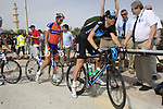 Sky Procycling team rider Michael Barry (CAN) signs on before the start of the 3rd Stage of the 2012 Tour of Qatar running 146.5km from Dukhan Souq, Dukhan to Al Gharafa, Qatar. 7th February 2012.<br /> (Photo Eoin Clarke/Newsfile)