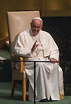 General Assembly 70th session 3rd plenary meeting Address by His Holiness Pope Francis