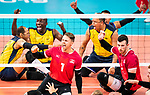 Jesse Ward and Doug Learoyd, Lima 2019 - Sitting Volleyball // Volleyball assis.<br />