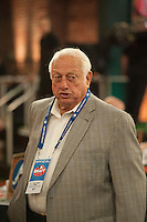 Los Angeles Dodgers Hall of Famer Tommy Lasorda during the MLB Draft on Thursday June 05,2014 at Studio 42 in Secaucus, NJ.   (Tomasso DeRosa/ Four Seam Images)