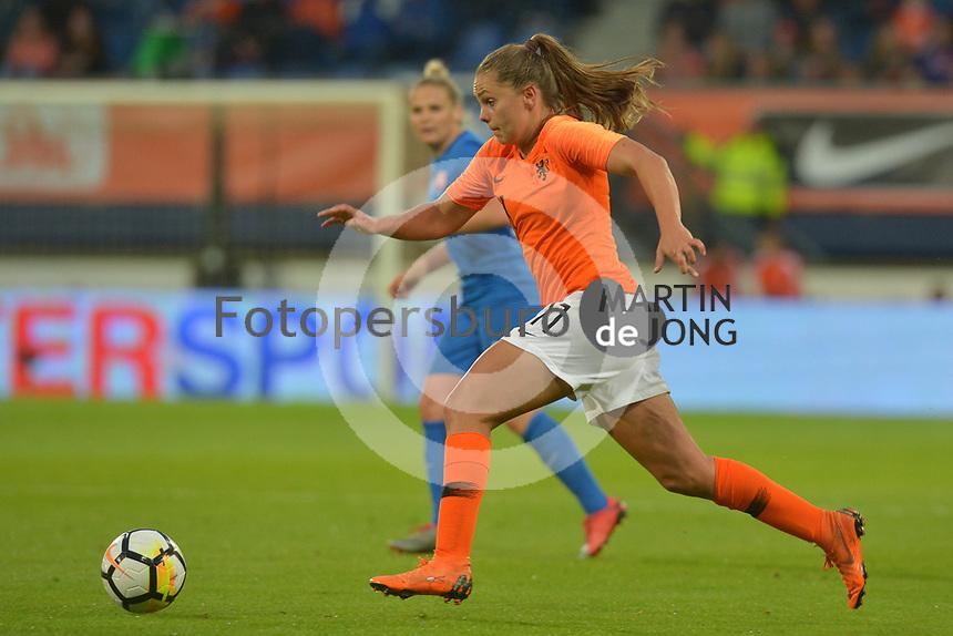 VOETBAL: HEERENVEEN: 12-06-2018, Abe Lenstra Stadion, Nederland - Slowakije vrouwenvoetbal, uitslag 1-0, Lieke Martens, ©foto Martin de Jong