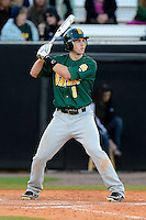 Siena Saints third baseman Mike Allen #8 during a game against the Central Florida Knights at Jay Bergman Field on February 16, 2013 in Orlando, Florida.  Siena defeated UCF 7-4.  (Mike Janes/Four Seam Images)