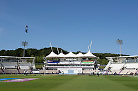 A glorious morning on Day 6 of the WTC Final during India vs New Zealand, ICC World Test Championship Final Cricket at The Hampshire Bowl on 23rd June 2021