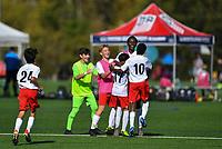 Advance, NC - October 27, 2019: U-14 Boys U.S. Soccer Development Academy - East Regional Showcase on Saturday, October 27th, 2019, at BB&T Soccer Park in Advance, NC.