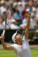 25-06-10, Tennis, England, Wimbledon,    Justine Henin