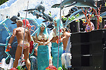 FLOAT WITH NAUTICAL THEME IN GAY PRIDE PARADE