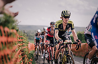 Jack Haig (AUS/Michelton-Scott) up La Redoute<br /> <br /> 104th Liège - Bastogne - Liège 2018 (1.UWT)<br /> 1 Day Race: Liège - Ans (258km)