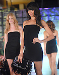 A model sports Jimmy Choo at the Simon Fashion Now fashion show at The Galleria Thursday Sept. 17,2009.(Dave Rossman/For the Chronicle)
