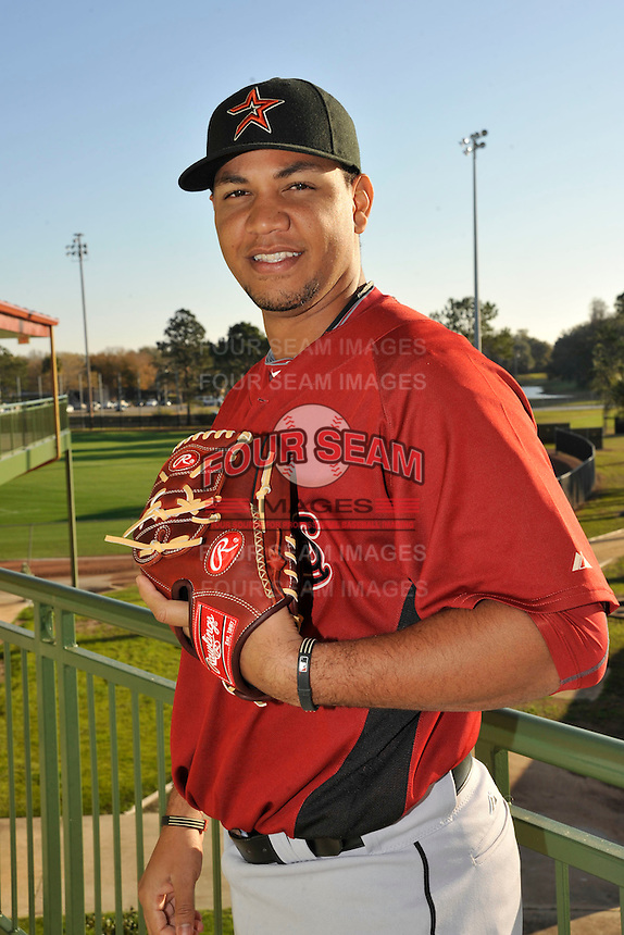 Feb 25, 2010; Kissimmee, FL, USA; The Houston Astros pitcher Yorman Bazardo (58) during photoday at Osceola County Stadium. Mandatory Credit: Tomasso De Rosa/ Four Seam Images