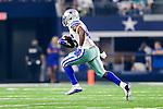Dallas Cowboys linebacker James Morris (46) in action during the pre-season game between the Miami Dolphins and the Dallas Cowboys at the AT & T stadium in Arlington, Texas.