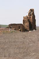 a church ruin , Pajares de los Oteros spain castile and leon