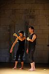 Croî(t)re (CM):<br /> Béryl Breuil, chorégraphe; <br /> Stève Paulet, Béryl Breuil, danseurs; Brahim Kerkour, musique<br /> Cadre : Corps sonores<br /> Fondation Royaumont<br /> 07/09/2012<br /> © Laurent Paillier / photosdedanse.com