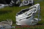 GER - Hannover, Germany, May 30: During the Men Lacrosse Playoffs 2015 match between HLC Rot-Weiss Muenchen (blue) and SCC Blax Berlin (white) on May 30, 2015 at Deutscher Hockey-Club Hannover e.V. in Hannover, Germany. Final score 19:1. (Photo by Dirk Markgraf / www.265-images.com) *** Local caption ***