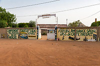 Senegal, Mbacke.  Le Baol Campement, offering Simple Bungalows for Lodging near Touba, which has no hotels.