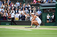 10th July 2021. Wilmbledon, SW London England. Wimbledon Tennis Championships 2021, Ladies singles final Ashleigh Barty versus  Karolina Pliskova (Czech);  Ashleigh Barty (Aus)