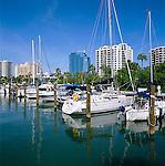 USA, Florida, Sarasota: Harbour Scene | USA, Florida, Sarasota: Hafen