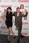 """Spanish actress Rossy de Palma and French movie director Patrice Leconte pose during `No molestar´ (""""Une heure de tranquillite"""") film presentation in Madrid, Spain. June 12, 2015. (ALTERPHOTOS/Victor Blanco)"""