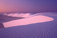 Predawn Light<br /> Heart of Sands<br /> White Sands National Monument<br /> New Mexico