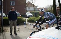 Allesandro Petacchi (ITA/Southeast) still racing at 41<br /> <br /> 103rd Scheldeprijs 2015