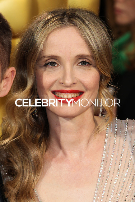HOLLYWOOD, CA, USA - MARCH 02: Julie Delpy at the 86th Annual Academy Awards held at Dolby Theatre on March 2, 2014 in Hollywood, Los Angeles, California, United States. (Photo by Xavier Collin/Celebrity Monitor)