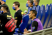 CARSON, CA - OCTOBER 14: Chris Chris Wondolowski #8 of the San Jose Earthquakes during a game between San Jose Earthquakes and Los Angeles Galaxy at Dignity Heath Sports Park on October 14, 2020 in Carson, California.