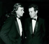 Bjorn Borg & John McEnroe 1977<br /> Photo By John Barrett-PHOTOlink.net / MediaPunch