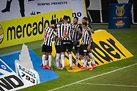 Belo Horizonte (MG) 07/07/21 - Atlético-MG-Flamengo - Gol de Savarino -Partida entre Atlético-MG e Flamengo , válida pela décima rodada do Campeonato Brasileiro no Estadio Mineirão em Belo Horizonte nesta quarta feira (07)