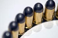 .45 rimmed bullet rounds.