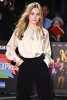 """Claude Scott-Mitchell<br /> arriving for the """"Knives Out"""" screening as part of the London Film Festival 2019 at the Odeon Leicester Square, London<br /> <br /> ©Ash Knotek  D3524 08/10/2019"""