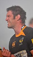 Photo: Tony Oudot/Richard Lane Photography. London Wasps v Exeter Chiefs. Aviva Premiership. 05/12/2010. .Simon Shaw of Wasps..