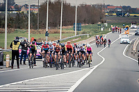 peloton in parts<br /> <br /> AG Driedaagse Brugge-De Panne 2020 (1.WWT)<br /> 1 day race from Brugge to De Panne (156km) <br /> <br /> ©kramon