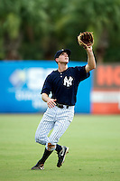 GCL Yankees Austine Aune #59 during a Gulf Coast League game against the GCL Phillies at Legends Field on July 17, 2012 in Tampa, Florida.  GCL Phillies defeated the GCL Yankees 4-2.  (Mike Janes/Four Seam Images)