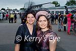 Enjoying the Ladies Day at the Listowel Races on Friday, l to r: Reelika Ollo and Marie Salova from Killarney.