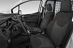 Front seat view of a 2018 Ford transit courier Limited 4 Door Car Van front seat car photos