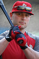 Matt Holliday #7 of the St.Louis Cardinals before a game against the Los Angeles Dodgers at Dodger Stadium on May 18, 2012 in Los Angeles,California. Los Angeles defeated St.Louis 6-5.(Larry Goren/Four Seam Images)