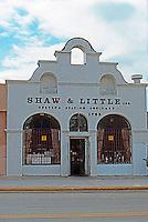 San Diego CA: Mission Revival: 1785 Logan Avenue. <br /> Commercial building.