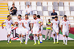 Islamic Republic of Iran squad celebrates the team's second goal during the AFC Asian Cup UAE 2019 Group D match between Vietnam (VIE) and I.R. Iran (IRN) at Al Nahyan Stadium on 12 January 2019 in Abu Dhabi, United Arab Emirates. Photo by Marcio Rodrigo Machado / Power Sport Images