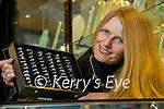 Heather O'Sullivan with diamond rings at John Ross jewellers, Tralee.