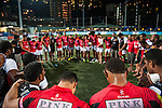 BGC Dragons defeat Tradition YCAC in the Cup Final during day 2 of the 2014 GFI HKFC Tens at the Hong Kong Football Club on 27 March 2014. Photo by Xaume Olleros / Power Sport Images