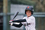 #52 Yoshii Harue of Japan bats during the BFA Women's Baseball Asian Cup match between Japan and India at Sai Tso Wan Recreation Ground on September 6, 2017 in Hong Kong. Photo by Marcio Rodrigo Machado / Power Sport Images