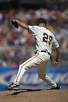 Jason Schmidt. New York Mets vs San Francisco Giants. San Francisco, CA 8/27/2005 MANDATORY CREDIT: Brad Mangin