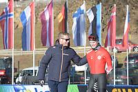 SPEED SKATING: COLLALBO: Arena Ritten, 11-01-2019, ISU European Speed Skating Championships, training, ©photo Martin de Jong