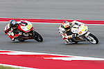 Arthur Sissis (61) and Andrea Locatelli (55) in action during the Red Bull Grand Prix of the Americas practice sessions at Circuit of the Americas racetrack in Austin,Texas.