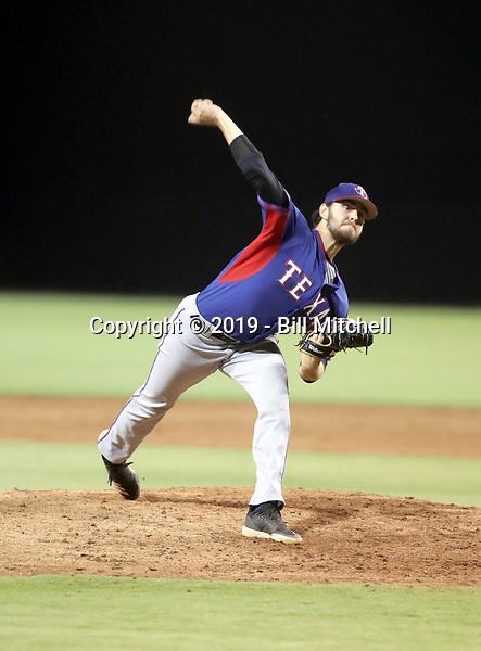 Ben Anderson - 2019 AZL Rangers (Bill Mitchell)